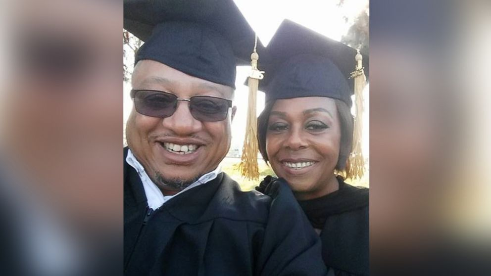 Renate and Charles L. Cole graduated Dec. 3 from Sacramento Theological Seminary. Their son, Charles, shared their now viral selfie on Twitter.