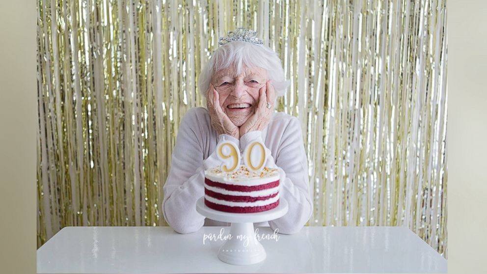 Ethel Ford Celebrated Her Upcoming 90th Birthday On July 12 With A Festive Cake