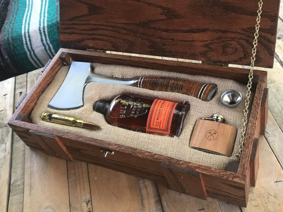 Man Makes Wilderness Wedding Survival Kit Boxes For His
