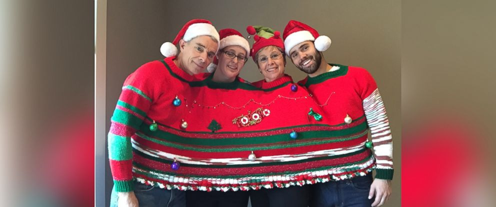 photo viewers sent gma their best crazy holiday sweater photos - Tacky Christmas