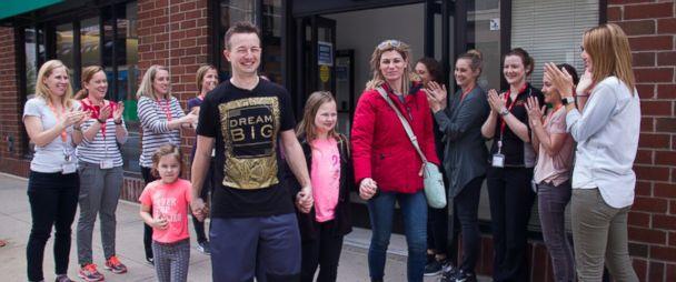 Illinois dad walks again just 7 months after car crash left him