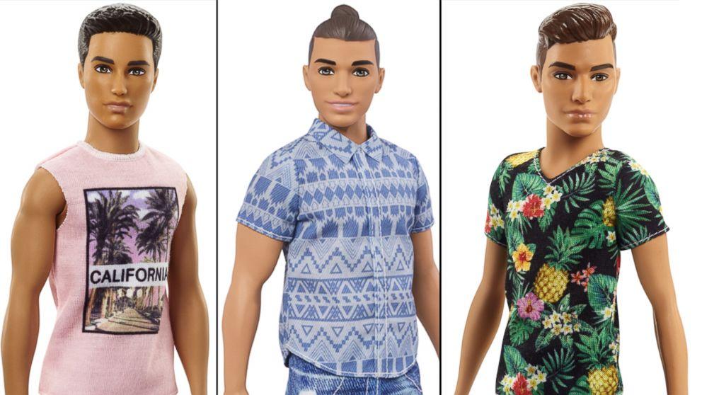 Mattel Unveils Diverse Line Of Ken Dolls Abc News