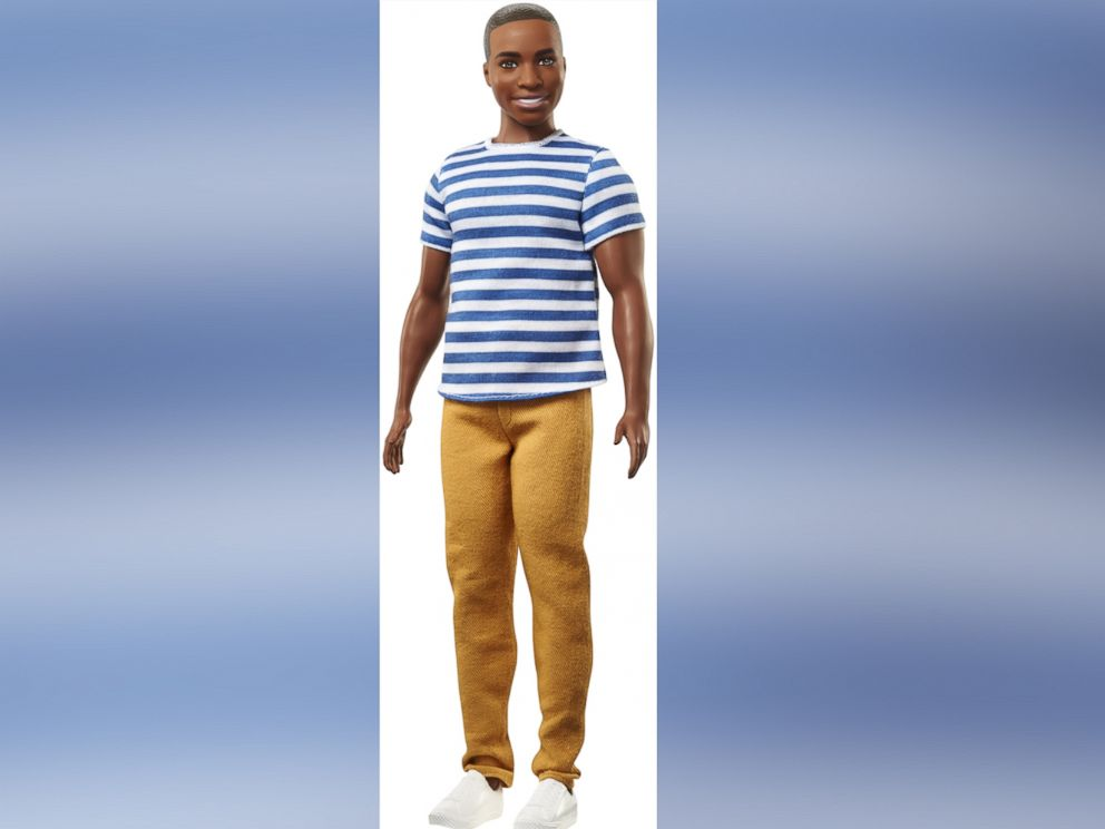 PHOTO: One of the 15 new Ken dolls released by Mattel.