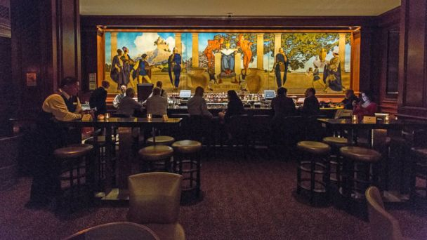 PHOTO: King Cole inside The St. Regis New York