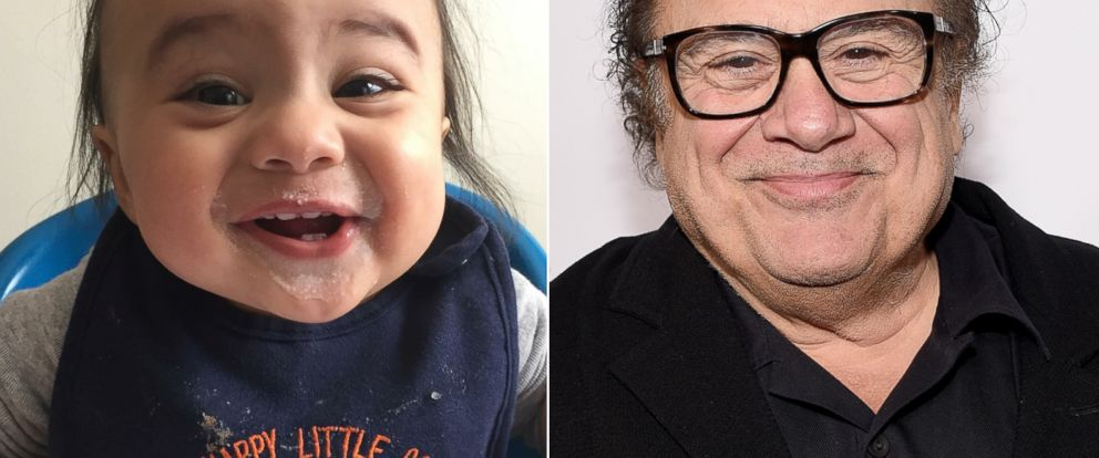 meet the toddler who looked like danny devito as a baby abc news