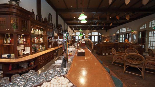 PHOTO: Long Bar inside Raffles Hotel Singapore