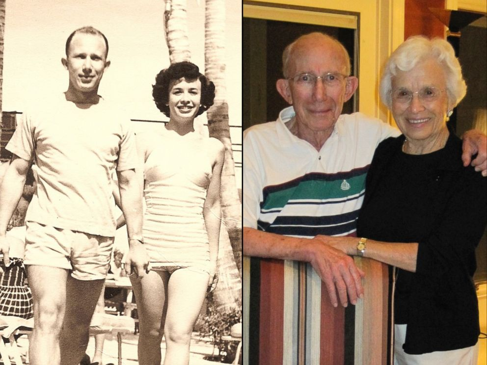 PHOTO: Frank and Thelma Hoffman, of Savannah, Georgia, have been married for 67 years.