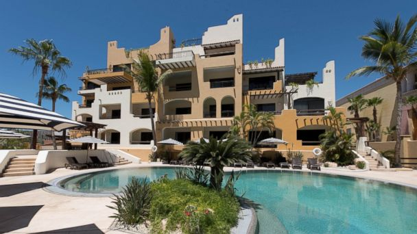 PHOTO: The Marina Fiesta Resort & Spa has 155 rooms, two pools and a swim-up bar.
