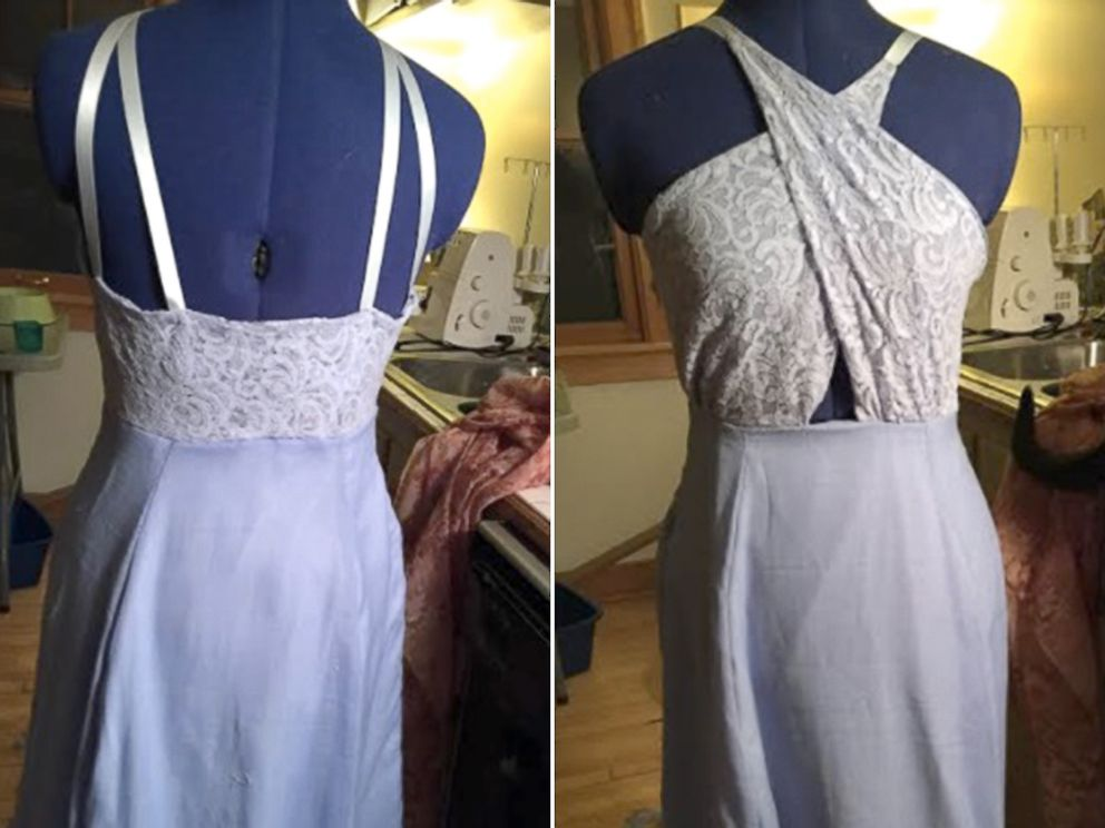Wisconsin high school junior makes prom dresses for 6 of her friends ...