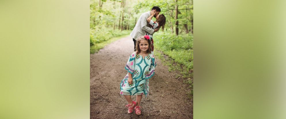 PHOTO: Grant Tribbett proposed to his girlfriend Cassandra Reschar and her 5-year-old daughter, Adrianna, on May 27, 2017.