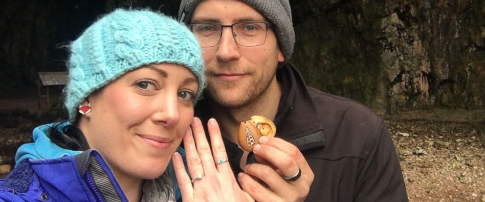 PHOTO: Terry and Anna, of Tasmania, Australia, became engaged after Anna realized her engagement ring was hidden in a necklace for over a year