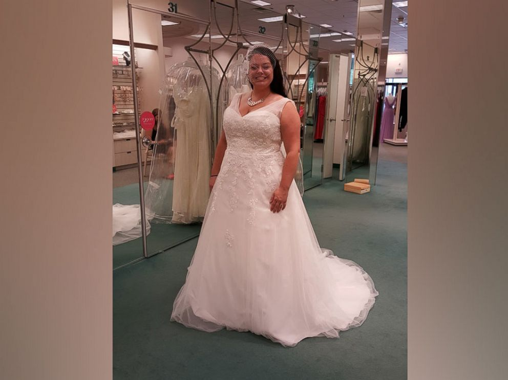 PHOTO: Natalie Gelbert, of Bahama, North Carolina, was devastated to learn her husband accidentally donated her dress to a local donation center in Durham.