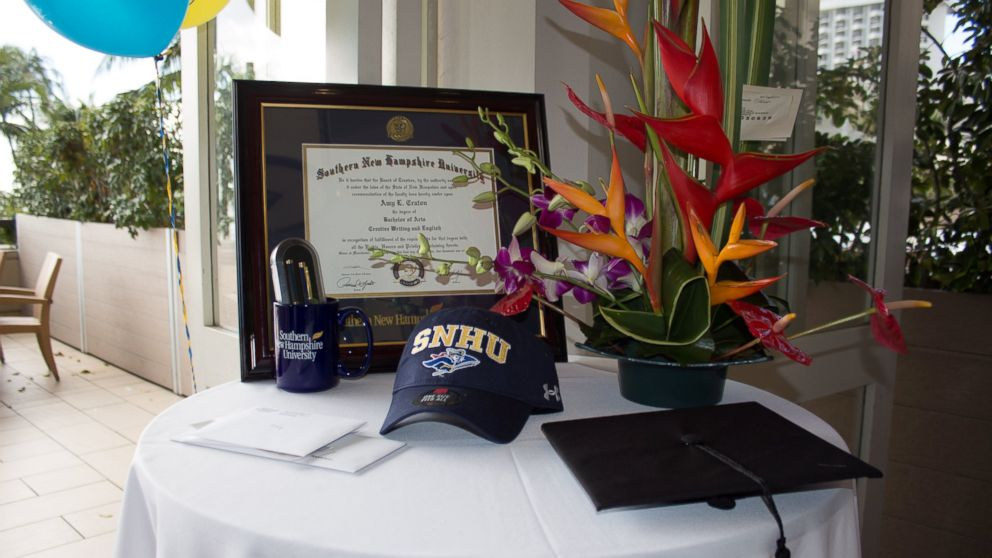 Amy Craton, 94, fulfilled a lifelong goal of completing her college degree with a 4.0 GPA.