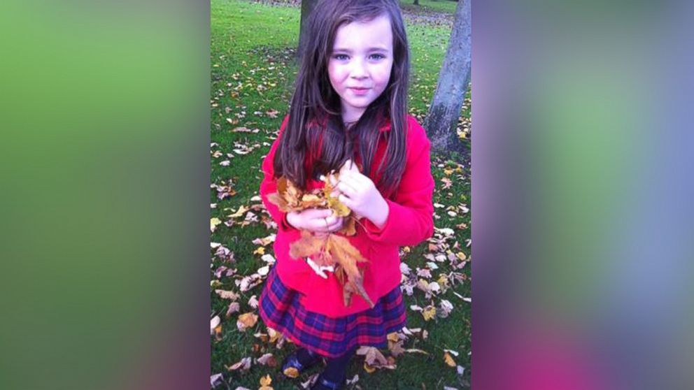 Molly-Raine Adams, 7, is pictured here.