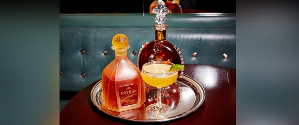 """PHOTO: The London NYC hotel debuted its """"Billionaire Margarita"""" recipe, pictured here."""