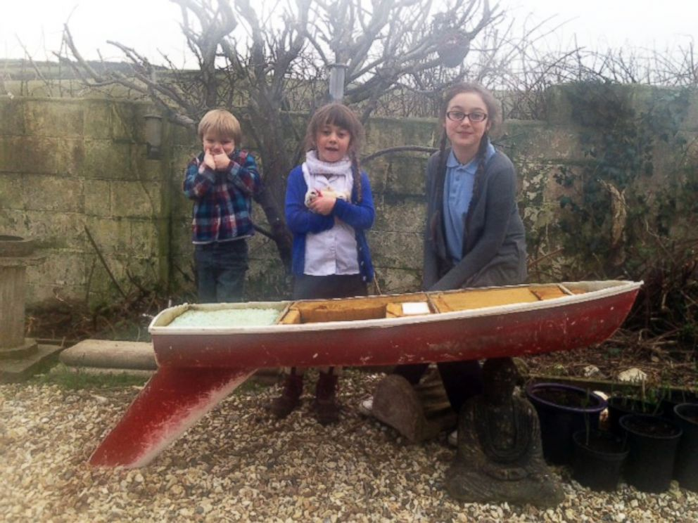 Toy Boat Set Sail by South Carolina School Kids Found in Wales ...