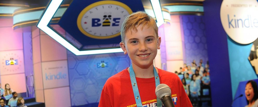 PHOTO: Neil Maes, 11, of Belton, South Carolina was born deaf, yet is now one of the top spellers in the country.