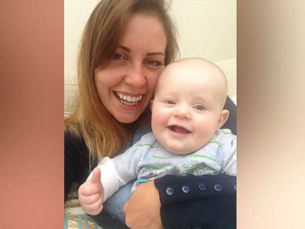 PHOTO: Gemma Colley and her son, Cooper, 7 months.