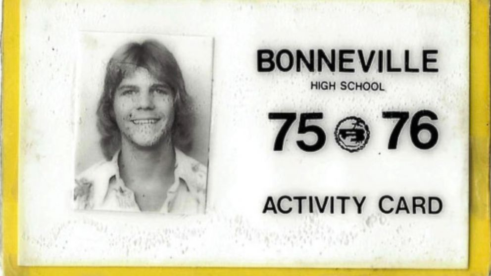 An ID from Roger Hepworth's high school years is pictured.