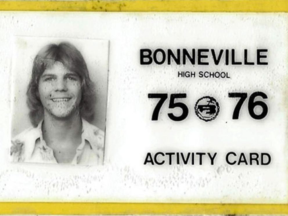 PHOTO: An ID from Roger Hepworths high school years is pictured.