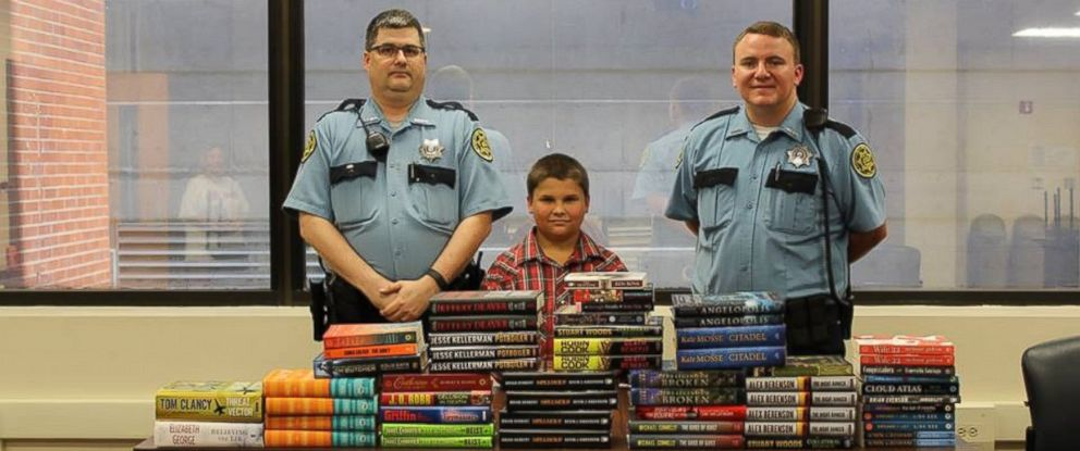 9-Year-Old Boy Uses Allowance Money to Donate Books to Local