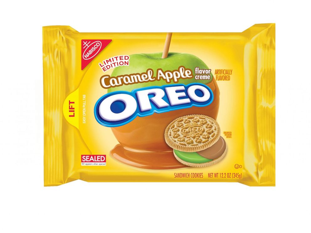 PHOTO: Oreo debuted its new caramel apple flavor.