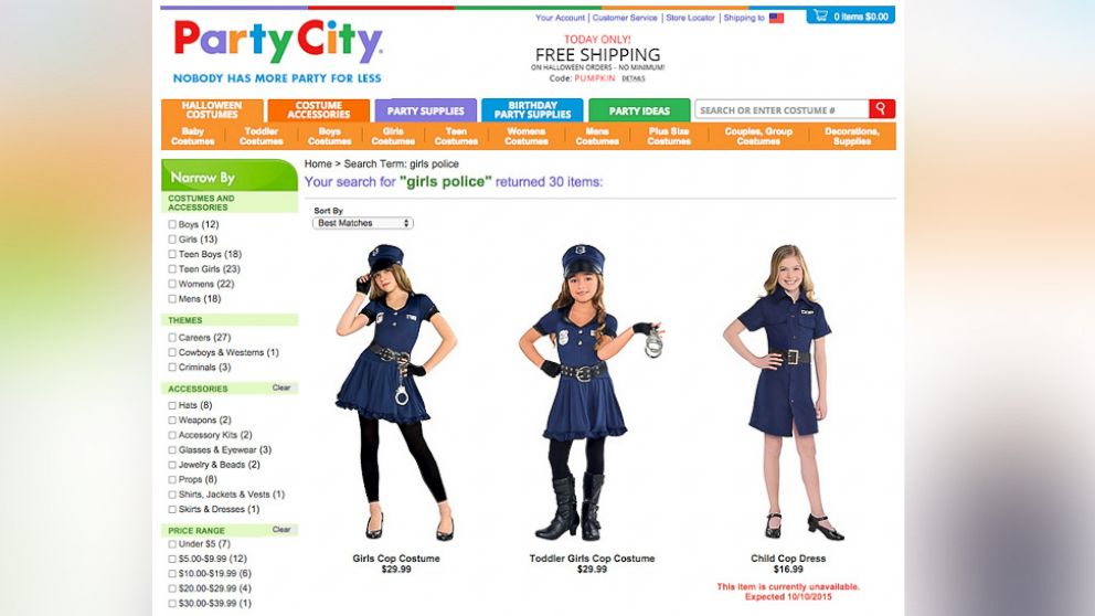 Mom Blasts Party City Over Halloween Costume Options For Girls