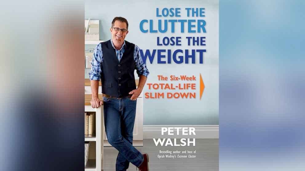 Can you lose weight by getting rid of the clutter in your home?