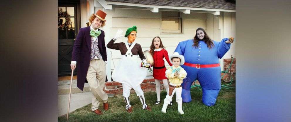 PHOTO: The Halloween costumes Michelle Rogers family puts together will cause some serious costume envy.