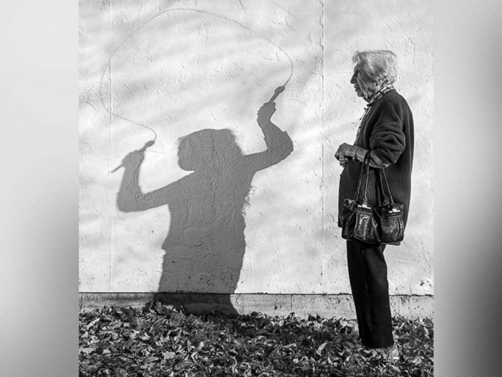 PHOTO: Artist Tony Luciani photographs his 93-year-old mother, Elia, who suffers from dementia.