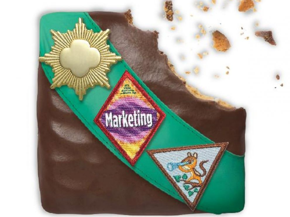 PHOTO: The Girl Scouts are introducing a smores-inspired cookie made of a crispy graham cookie dipped in a creme icing and covered in chocolate.
