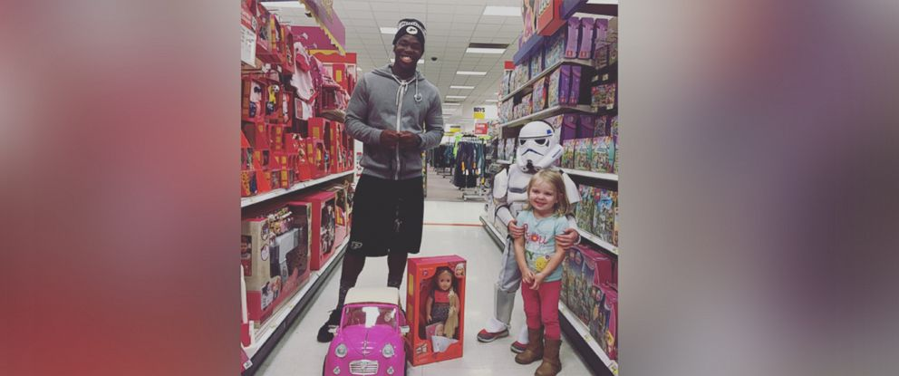Toddler Gets Surprise Birthday Gift From Stranger At Target