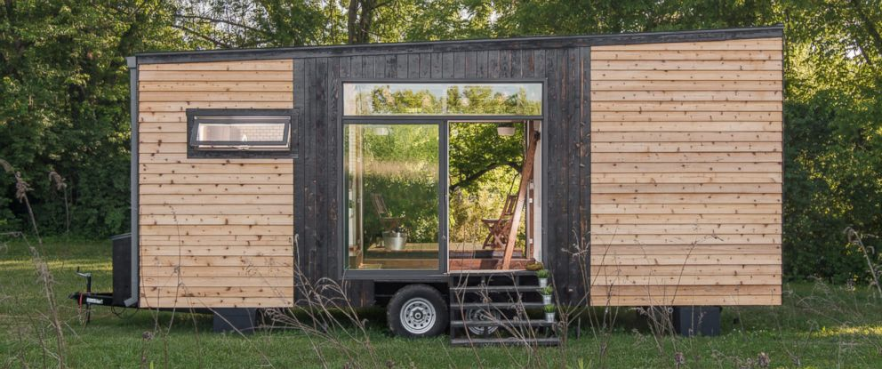 "PHOTO: New Frontier Tiny Homes ""Alpha Tiny Home"" is only 246 square feet."