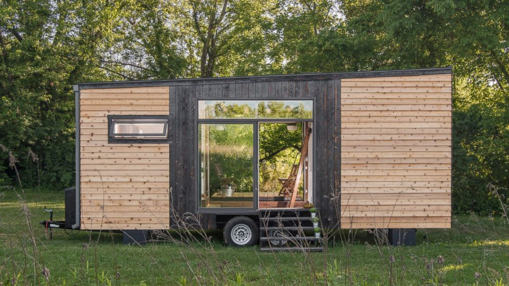 See Inside The Rustic Glam Luxury Tiny Home With 246 Square