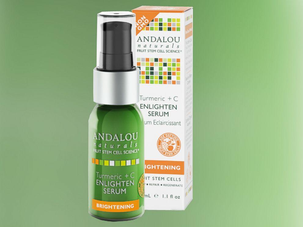 PHOTO: Andalou Naturals Turmeric +C Enlighten Serum