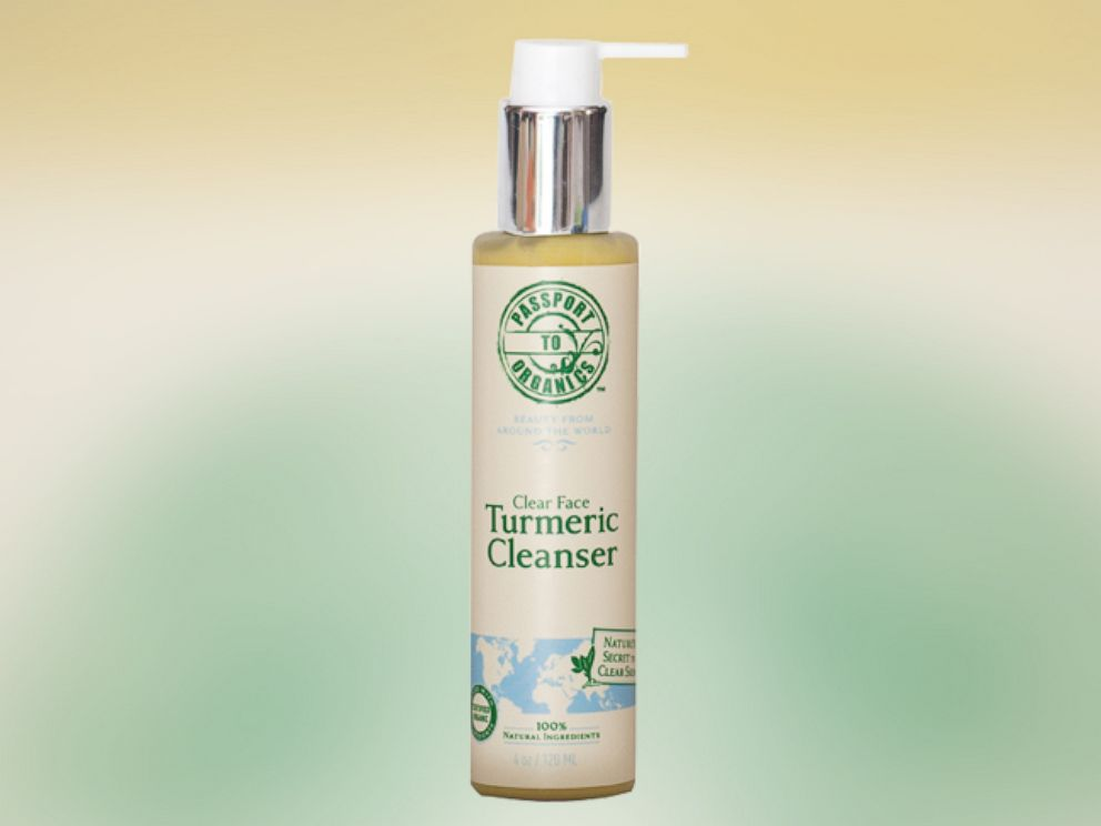 PHOTO: Passport to Organics Clear Face Turmeric Cleanser