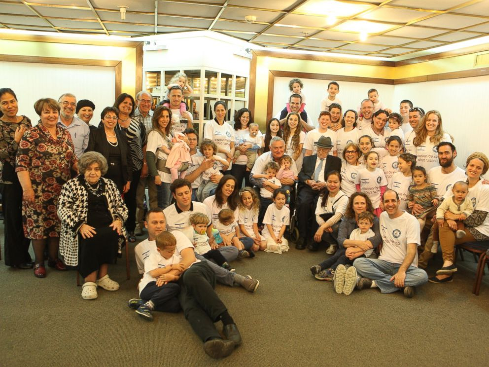 PHOTO: Kristal surrounded by his family.