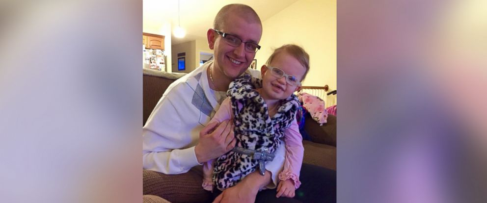 PHOTO: Adam Standiford is pictured with his six-year-old daughter, Savannah.