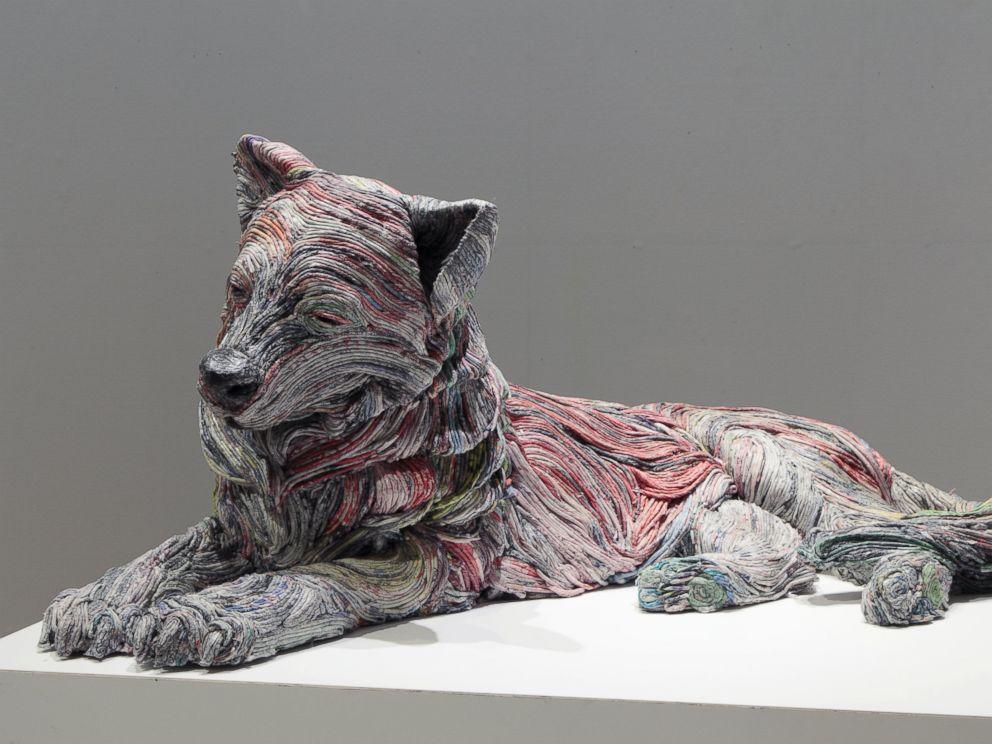 Japanese Artist Creates Large Lifelike Animal Sculptures