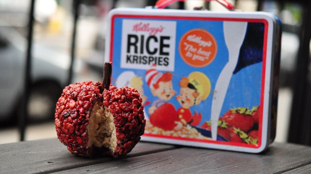 An apple a day made from Rice Krispies may keep the doctor away, but the dentist?