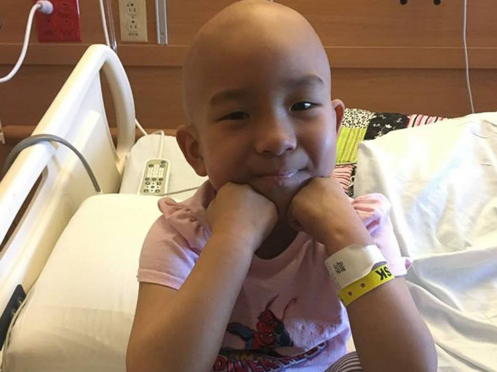 PHOTO: Ava Lee, a 7-year-old girl from Illinois, is battling a rare type of leukemia.