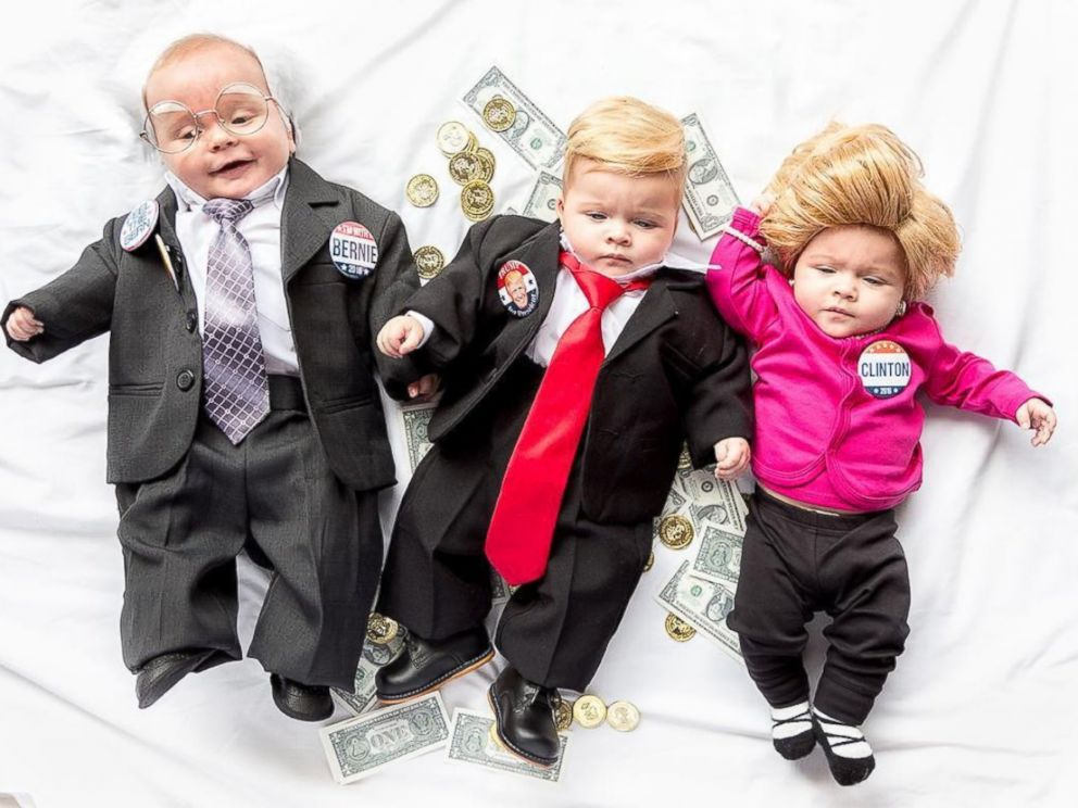 Mommy And Baby Boy Halloween Costumes.Mom Dresses Up Her Sweet Pea Triplets In Epic Diy