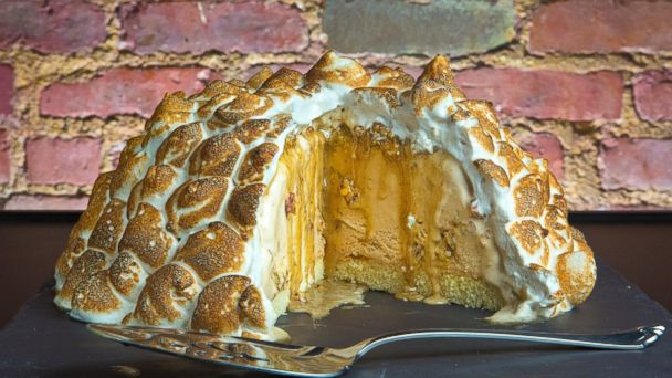 Tasting Tables Thanksgiving Baked Alaska