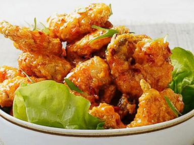 Almost famous spicy fried shrimp recipe food network magazine photo food network magazines almost famous spicy fried shrimp forumfinder Choice Image