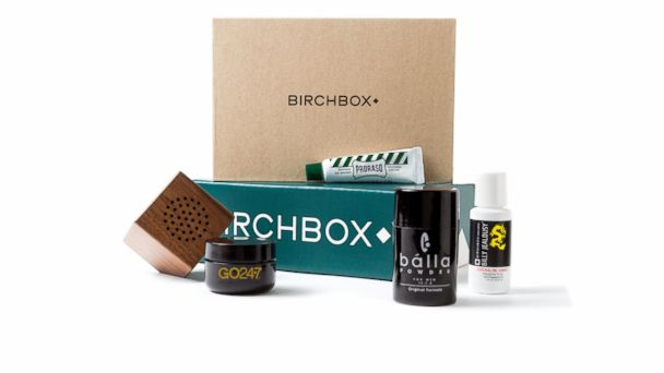 PHOTO: Birchbox for Men sends a selection of great grooming gear each month.