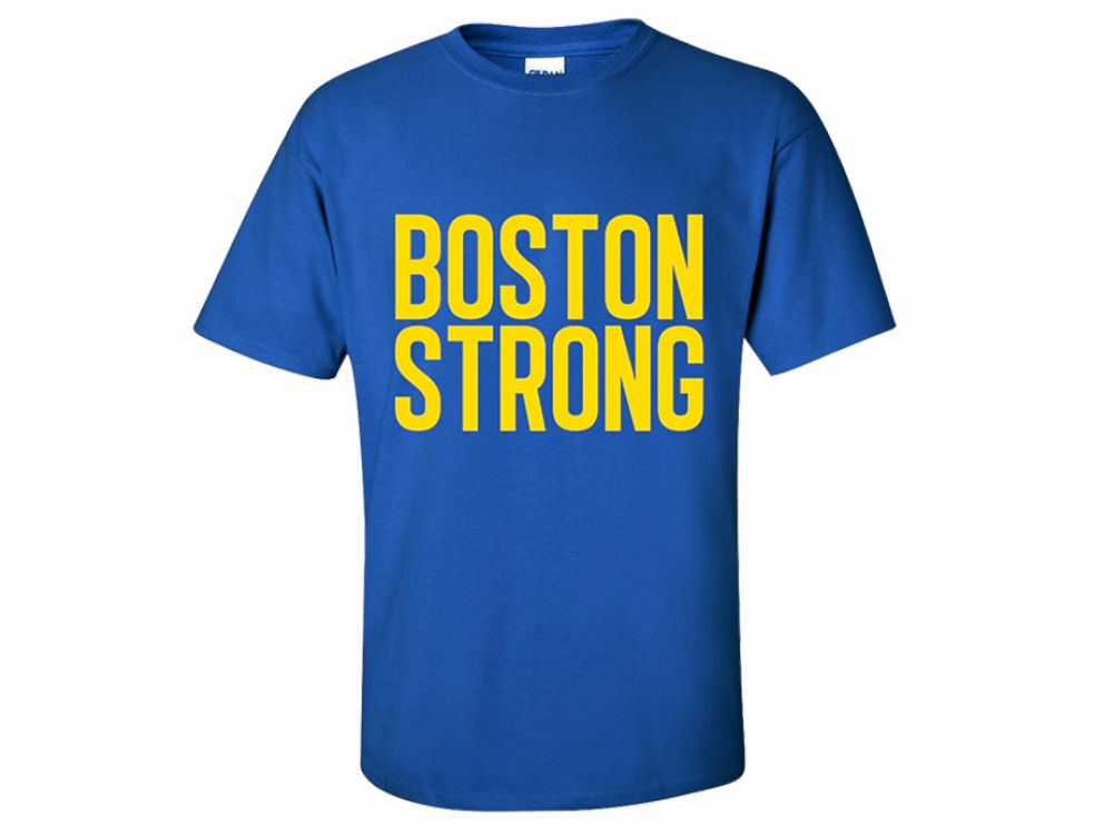 PHOTO: Boston Strong T-Shirt produced by custom t-shirt designer website, inktothepeople.com.