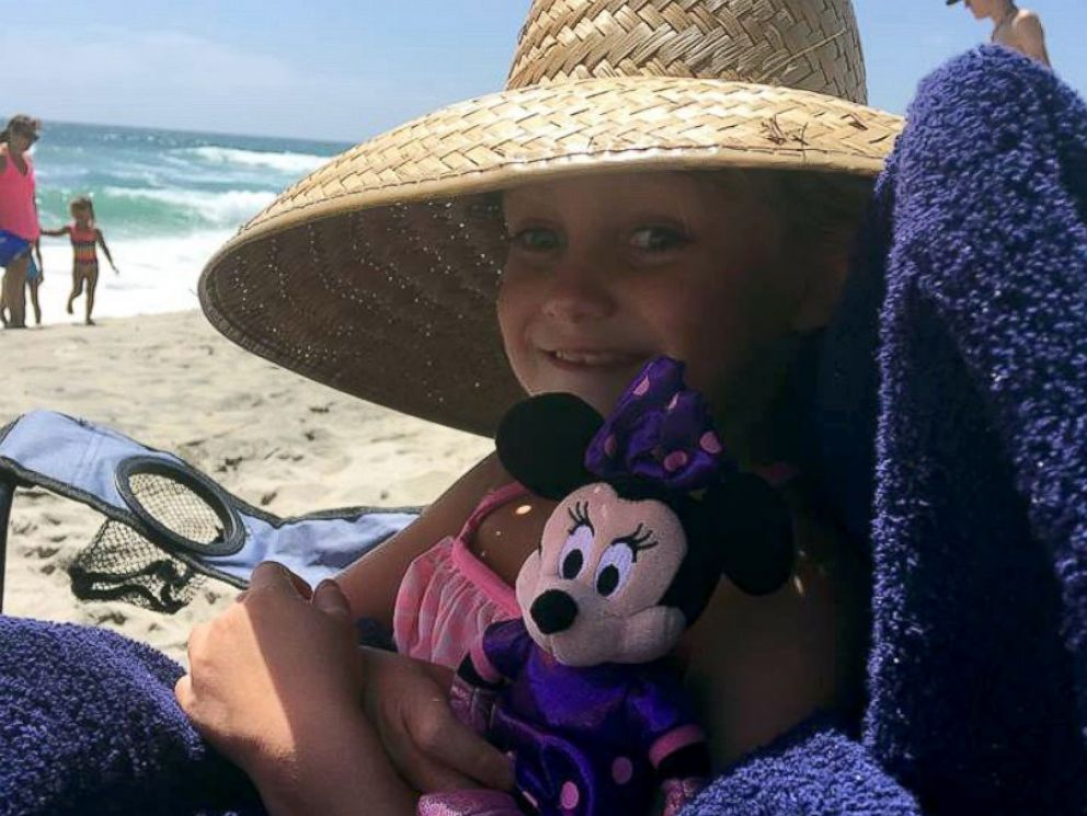 PHOTO: Cailee Herrell, 6, has a rare genetic disorder in which she may lose her vision. Now her mom Catrina Frost is taking her on a sightseeing bucket list.