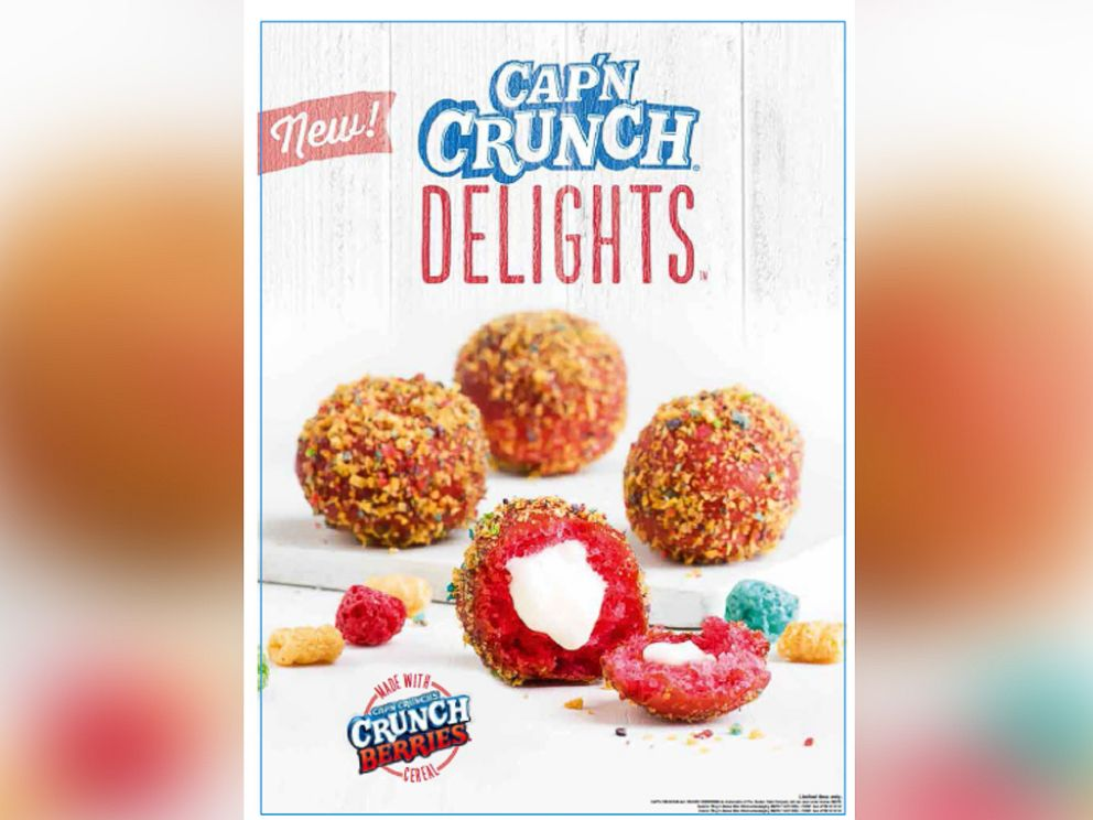 PHOTO: Taco Bell is testing Capn Crunch Delights.