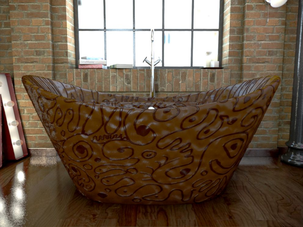 PHOTO: This chocolate bathtub can be yours, but it will set you back over $80,000 and 8 million calories.