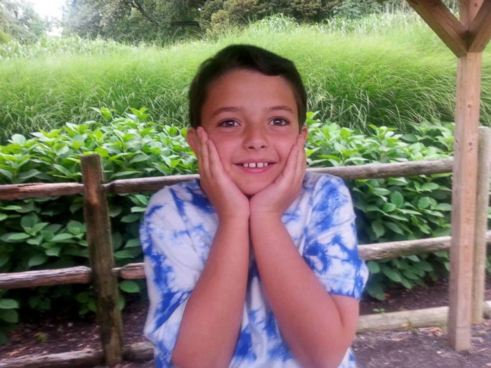 PHOTO: Christopher Cornelius, age 11. This is my son, Christopher....hes about to make a lot of friends... his dad wrote on Facebook.